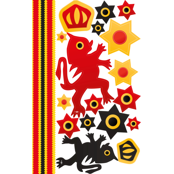 kit stickers carnaval