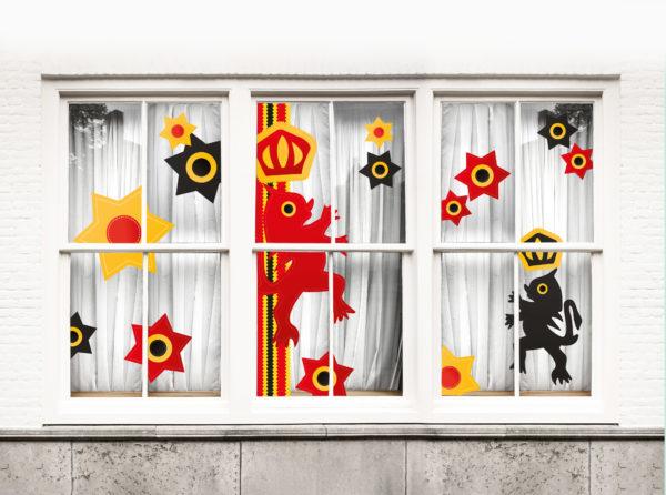 Stickers fenêtre Carnaval